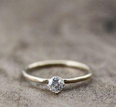 Handmade Engagement Rings by Andrea Bonelli Jewelry   Emmaline Bride