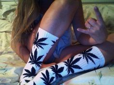 "HUF 420 Plantlife Socks ""Stand-Out Edition"" on Etsy, $15.15"