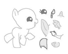 Baby Pony Base by oKeaton.deviantart.com on @deviantART