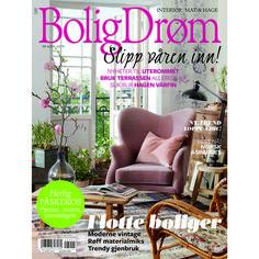 April 2014: nytt & trender til uterommet, vårklar hage og masse påskekos. Flotte hjem og inspirerende interiør.