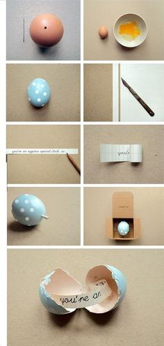 A Eggtra special idea !