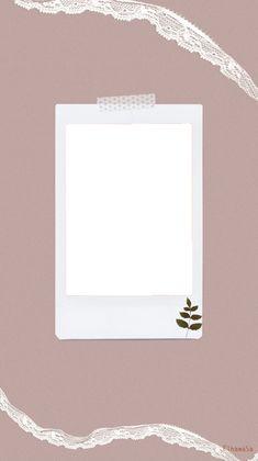 Marco Polaroid, Polaroid Frame Png, Polaroid Picture Frame, Polaroid Template, Photo Frame Wallpaper, Framed Wallpaper, Flower Background Wallpaper, Creative Instagram Stories, Instagram Story Ideas