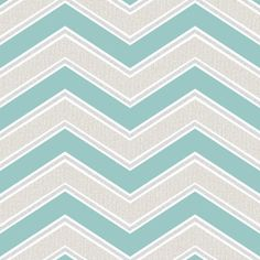 Coloroll Chevron Geometric Wave Teal Glitter Wallpaper - M1145