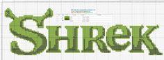 Logos+Shrek+Cross+Stitch+-+Punto+de+cruz.jpg (1600×588)