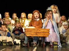 The school nativity play