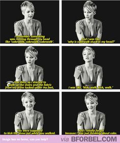 Jennifer Lawrence Is All About Food…