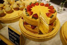 Strawberry Sponge cake #foodie