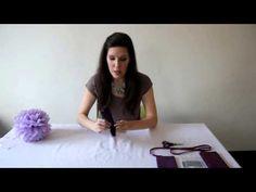 Jak na to: 8# Papírová růže DIY - YouTube