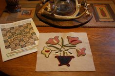 Tom Miner Quilts and Folk Art: The Emily Munroe Quilt...more Progress