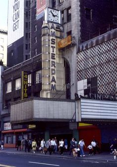 amsterdam theater 1990 | These Photos Show The Last Days Of Old, Sleazy Times Square