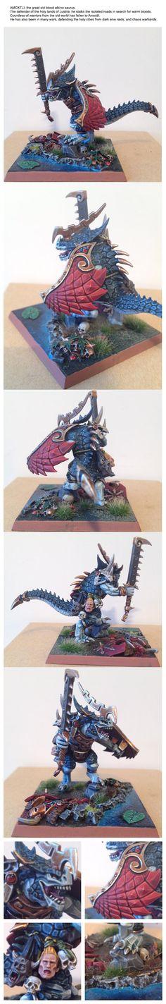 Chaos Warrior, Jonavic, Khorne, Lizardmen, Lustria, Old Blood, Oldblood, Saurus, The Jonavic, Thejonavic, Warhammer Fantasy