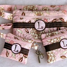 Boutique Zipper Case & Fanny Pack Set In the Hoop  $18.99 from picklepiedesigns.com