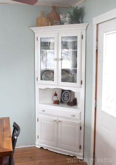 Awesome Corner Hutch Furniture Makeover Plus The Two Biggest Beauteous Corner Hutch Dining Room Furniture Decorating Design