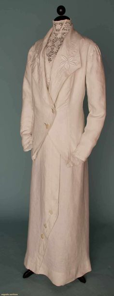 Summer Walking Suit, 1908, Augusta Auctions