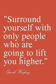 This is a very true statement - the feeling when surrounded by positive people is palpable!