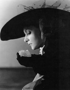 Garbo in a publicity photograph for Camille (1936). Photo: Clarence Sinclair Bull.