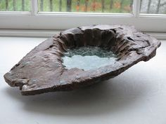 nickolai globe glass, clay, high fired