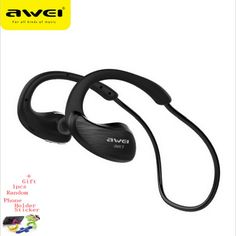 Awei A885BL Bluetooth Headset Headphones Sports Wireless IPX4 Waterproof With NFC Microphone AptX Sport Earphone for Running Gym