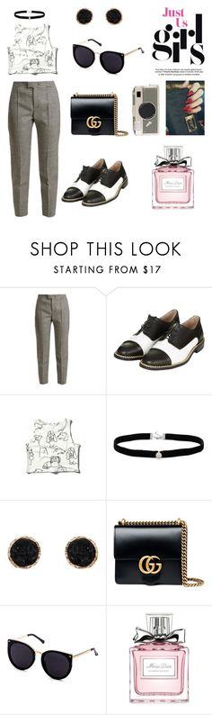 """""""Untitled #156"""" by acarine-rios on Polyvore featuring RED Valentino, Topshop, WithChic, Amanda Rose Collection, Humble Chic, Gucci, Christian Dior and Kate Spade"""