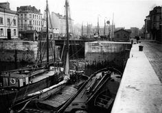 Nassaubrug Antwerpen, between Willemdok en Bonapartedok (undated)