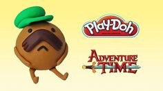 Play Doh Adventure Time Starchy - How To Make with Playdoh