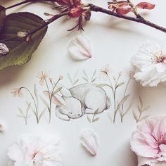 "9,603 Me gusta, 82 comentarios - ✧ Nina Stajner ✧ (@ninastajner) en Instagram: ""Wishing you baby bunnies a super cosy Easter weekend! I am going to spend it like this fella…"""