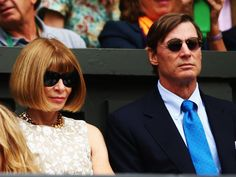 """Wintour has now been with Texan investor Shelby Bryan for more than 15 years, though they are rarely seen together. Some have said that their relationship has mellowed her, telling the Guardian, """"She smiles now and has been seen to laugh."""""""
