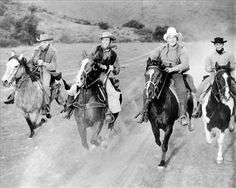 Ben and the boys on their horses