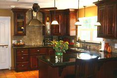 on pinterest dark cabinets kitchen backsplash and backsplash ideas