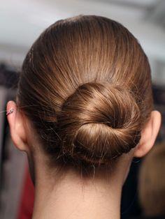 Diane von Furstenberg Fall 2012 - hair