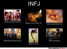 INFJ... - Give your friends a smile and share this.