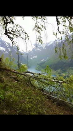 Balestrand, Norway in May!