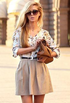 Lindas faldas para el Otoño   Moda y Belleza