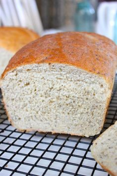 Easy, Healthy, Homemade Bread! Made with chia seeds, flax seeds, quinoa flour, oat flour, and coconut oil! From The Diva Dish!