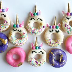 Unicorn  donuts