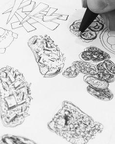 Still in progress. Ballpoint Pen Art, Personal Portfolio, Food Drawing, Food Illustrations, Food Art, Drawings, Instagram, Sketches, Drawing