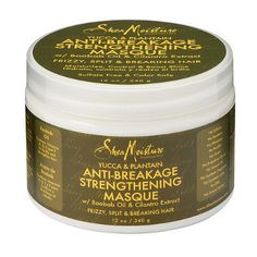 Shea Moisture - Yucca & Plantain - Anti-Breakage Strengthening Masque w/ Baobab Oil & Cilantro Extract