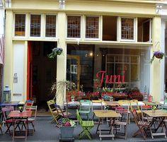 Juni, lunchroom, den Haag