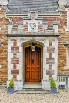 Check out this property for sale on Rightmove! Door Entryway, Entrance Doors, Doorway, Garage Doors, Door Gate, Rustic Doors, Unique Doors, Painted Doors, Closed Doors