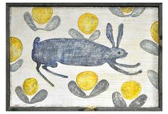 Happy Hare Art Print on OneKingsLane.com