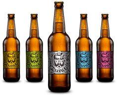 DUVIDA Beer by Sandro França, via Behance