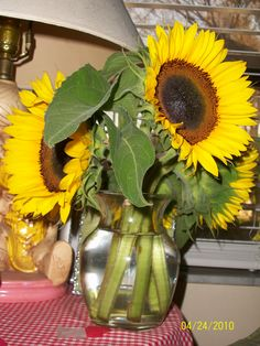 you can never  have enough sunflowers