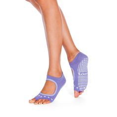 Tucketts toeless Pilates socks is coming to town, yay! Great selection of quality manufactured grippy socks for men and women in snazzy colors and styles! Grippy Socks, Pilates Socks, Soft Summer, Womens Flats, Barefoot, Heeled Mules, Lavender, Exercise, Plantar Fasciitis