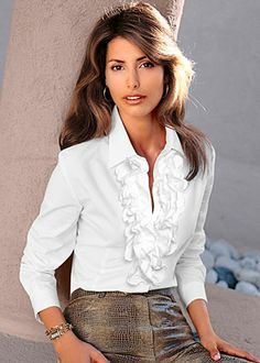 Pirate Lady Vixen Womens Ruffled White Blouse W/peplum By Ralph ...