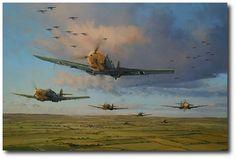 Air Armada - The Hardest Days by Robert Taylor (Me109)