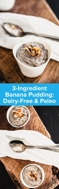 3-Ingredient Banana Pudding | StupidEasyPaleo.com
