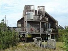 This cozy and comfortable vacation rental home nestled in the dunes on Salvo, Hatteras Island, is sure to please with its unique character and ...