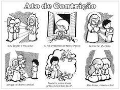 Infância e Adolescência Missionaria de Astorga: Orações para Colorir