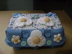 kit costura com caixa de ovo - Pesquisa Google
