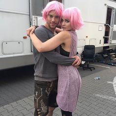 """5,069 Likes, 23 Comments - Official Fans (@sense8_fans) on Instagram: """"Will and Riley in pink #sense8 #willGorski #rileyBlue @smithespis @twopencemiddleton"""""""